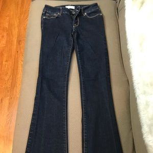 Dark colored jeans size 0R